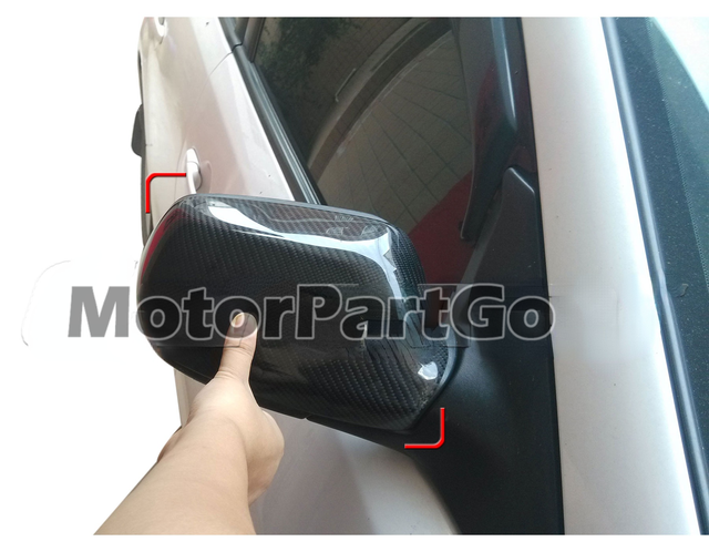Real Crabon Fiber Mirror Cover 1 pair for Old Mazda 3  M3 2003-2012 T243M 6