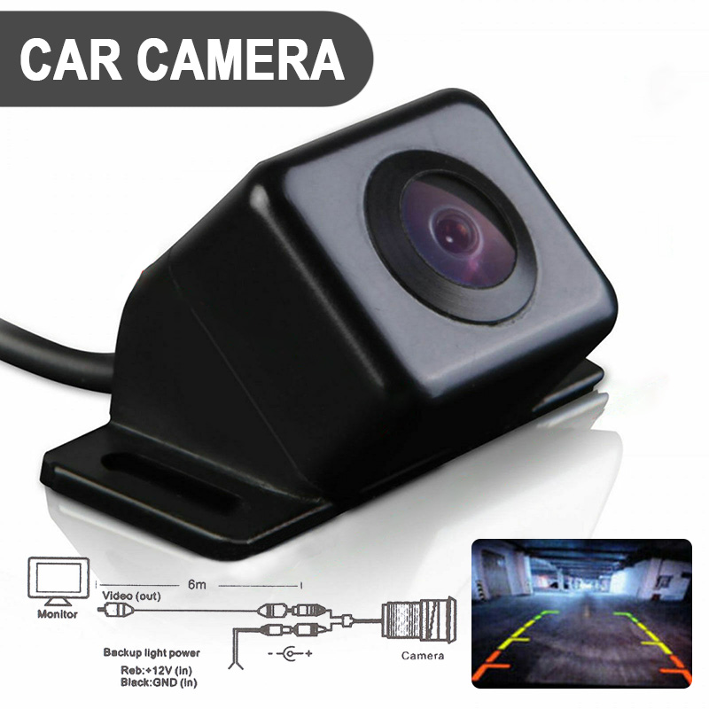Universal Car Reversing Parking Side Rear View HD Night Vision Camera 170 Degree Wide Angle Waterproof Backup For Car Cameras