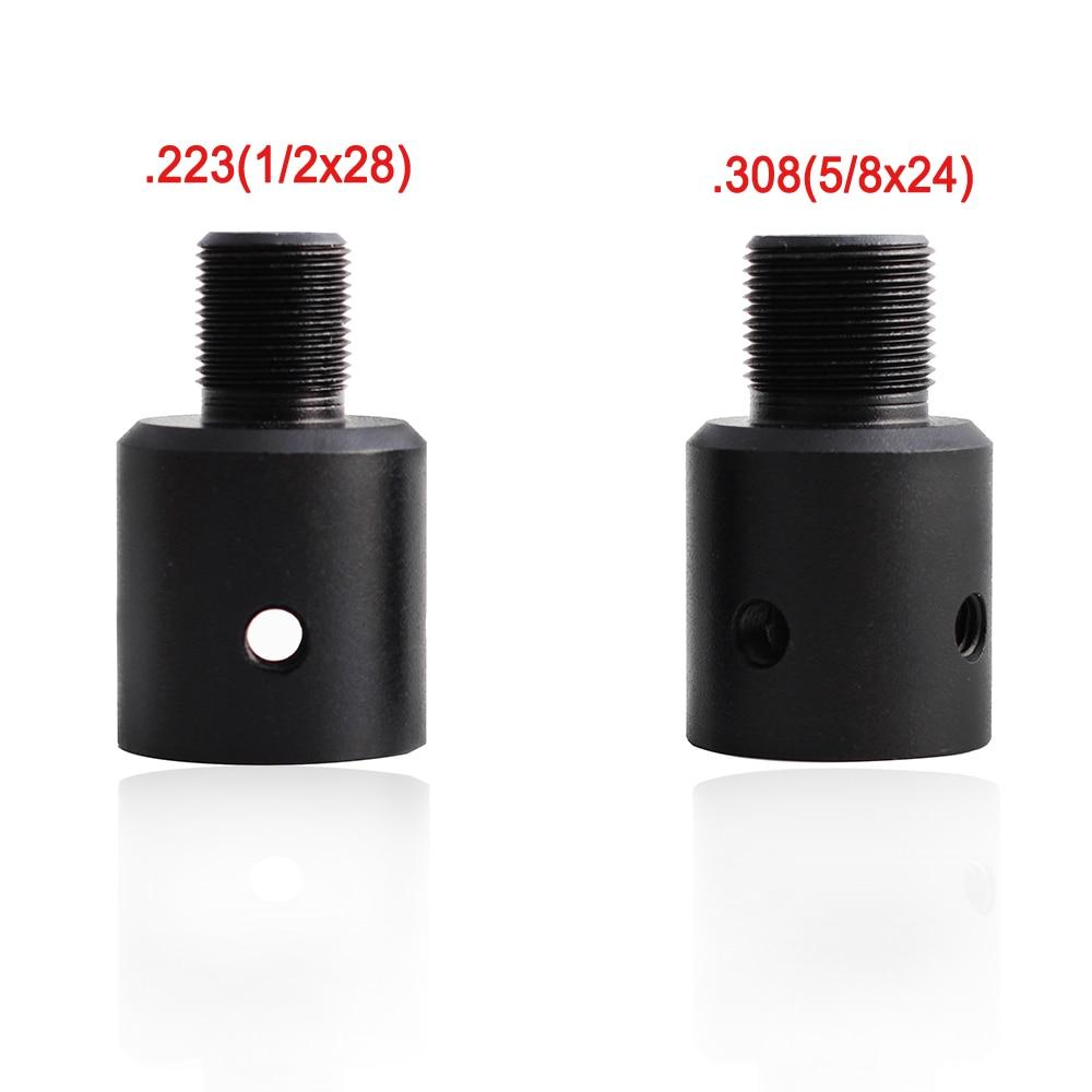 Magorui Ruger 1022 10/22 Barrel End Thread Protector Muzzle Brake Adapter 1/2x28 5/8x24 Combo .223 .308 Compensator