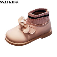 Ssai kids/Детские кожаные ботинки; Новинка 2020 года; Зимняя