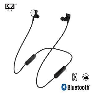Image 1 - Kz Bte 1dd + 1ba casque Bluetooth casque sans fil casque/Aptx sport Hifi basses casque pour téléphones et musique