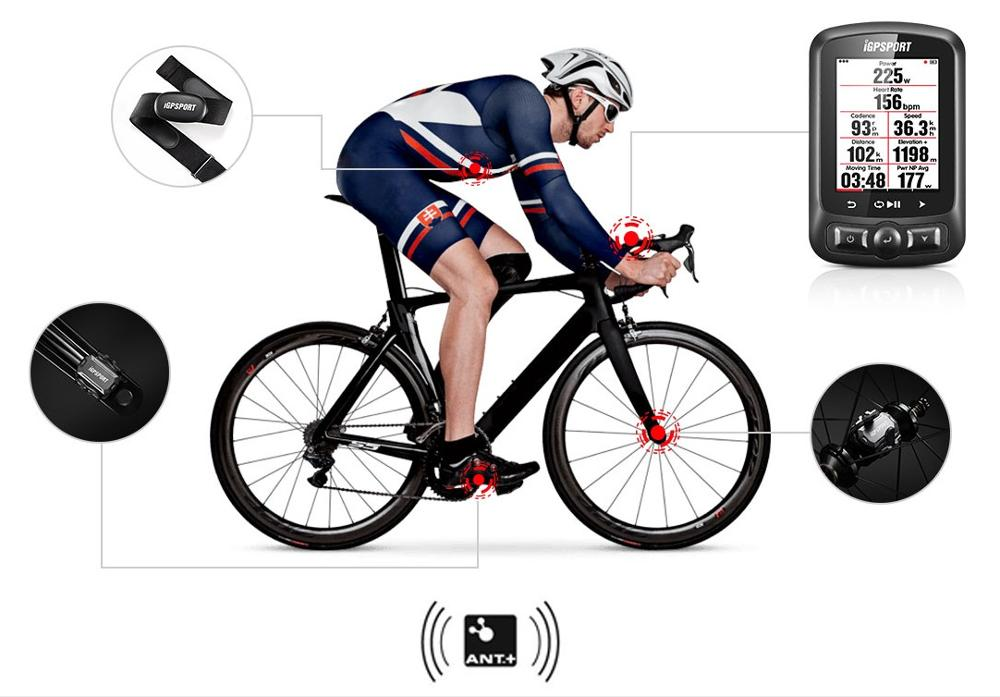 Image 5 - iGPSPORT  iGS618 gps cycling computer Speedometer IPX7 with AccessoriesBicycle Computer   -