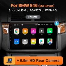 AWESAFE PX9 para BMW E46 Coupe M3 Rover 316i 318i auto Radio Multimedia reproductor de Video GPS de navegación No 2 din 2din DVD Android 10