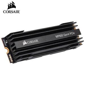 Image 2 - CORSAIR unidad de almacenamiento de estado sólido, serie Force, MP600, SSD, NVMe, PCIe Gen 4,0, X4, M2, SSD, 1TB, 2TB, MB/s 4950, M2, 2280, SSD