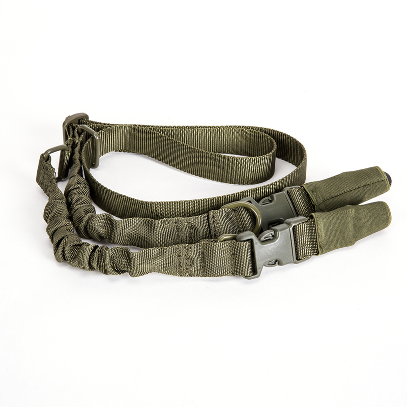 Tactical Military Airsoft Hunting Two 2 Points Gun Sling Adjustable Shoulder Rope Bungee Rifle Accessories for Air-soft