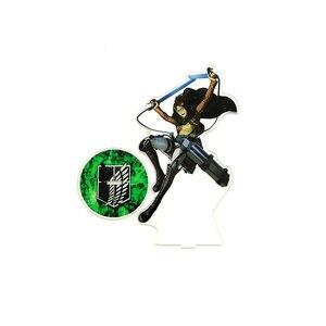 Love Thank You Attack on Titan Hange Hanji Zoe акриловый стенд фигурка модель двухсторонняя тарелка держатель торт Топпер аниме