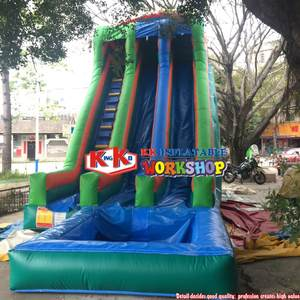 Inflatable-Water-Slide Pool Water-Park Commercial Adult/children Slide-Toys with