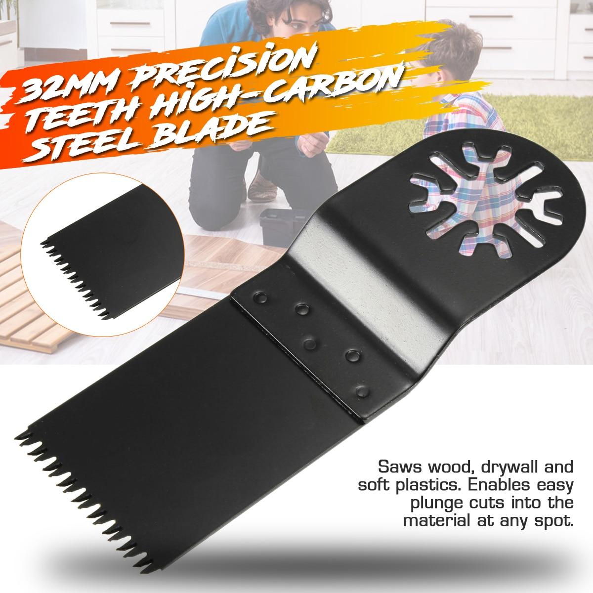 1pc 32mm Hoja de sierra HCS Metal Multi herramientas oscilantes para - Hojas de sierra - foto 2