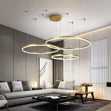 Постмодернизированная светодиодная люстра потолочный светильник