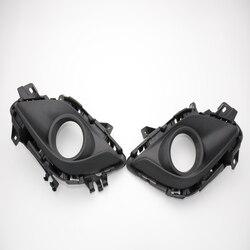 2 sztuk/para światła przeciwmgielne lampy bezel pokrywa wykończenia RH i LH dla MAZDA 6 ATENZA 2014
