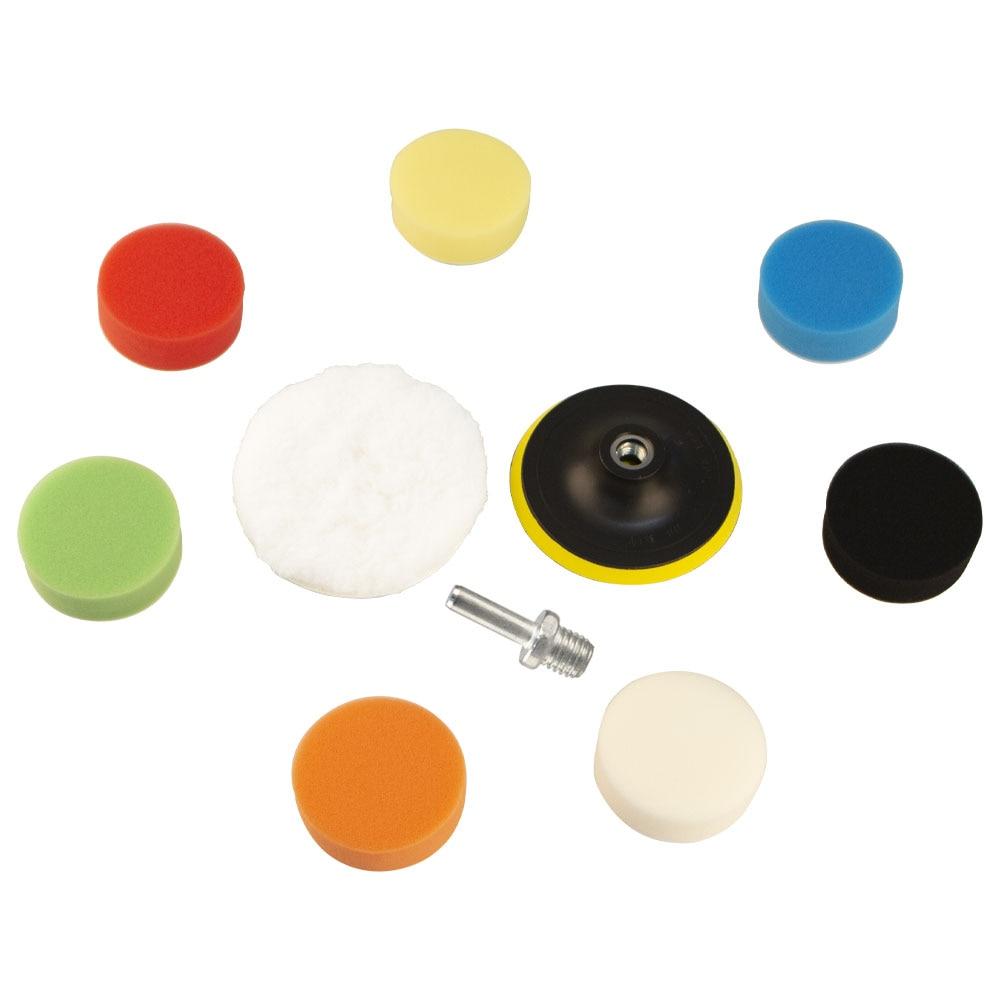 24 pçs set almofada de polimento polimento