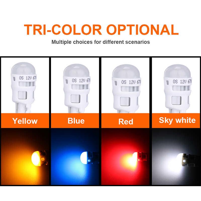 Osram W5W LED Car DRL Driving lampara reversa bombillas W5W T10 LED 194 168 parte trasera cuña de bombilla aparcamiento Domo luz 12V señales de giro