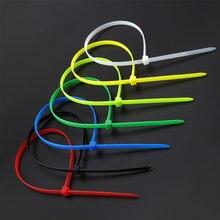 Самоблокирующиеся пластиковые нейлоновые кабельные стяжки ширина