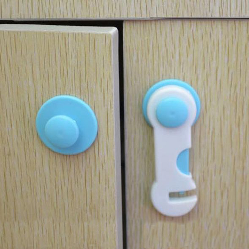 10pcs/set 2 Colors Quality Children Drawer Safety Baby Lock Kids Plastic Safety Cupboard Cabinet Wardrobe Door Fridg Baby Care