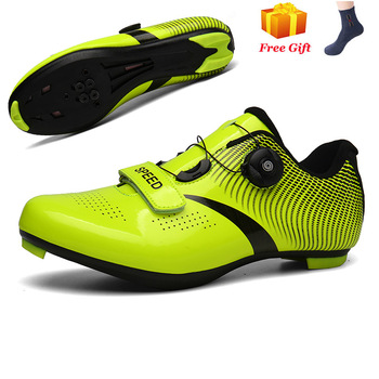 Professional Athletic Bicycle Shoes MTB Cycling Shoes Men Self-Locking Road Bike Shoes sapatilha ciclismo Women Cycling Sneakers 16