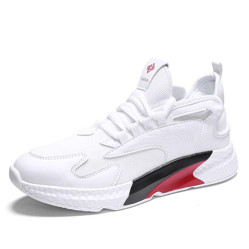 OLOME Sıcak Satış Erkekler rahat ayakkabılar Hafif Nefes Erkek Sneakers Yüksek Kaliteli Açık yürüyüş ayakkabısı Zapatos Casuales