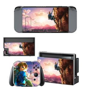 Image 5 - The Legend of Zelda Nintendoswitch Skin Nintendo Switch Sticker Decal per Nintendo Switch Console Joy con Controller Skin Sticker