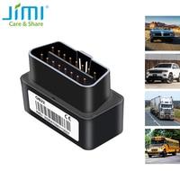 Jimi-Mini rastreador GPS de coche OB22 con monitoreo por voz, seguimiento en tiempo Real, carga gratuita, alarmas múltiples, localizador GPS para vehículos
