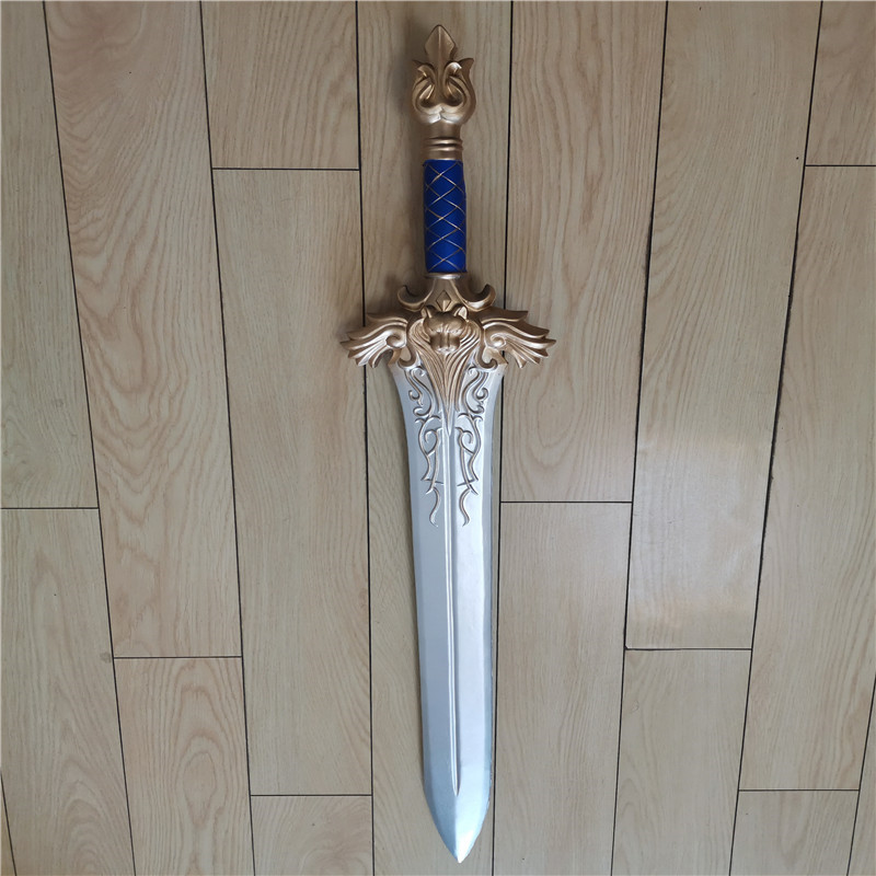 Cosplay World Of Warcraft King Lyne Sword Prop Halloween Hot Game