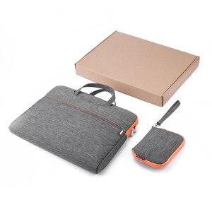 Новый 15 дюймов Водонепроницаемый чехол для ноутбука сумка органайзер с аксессуарами сумка для ноутбука Ноутбук для MacBook ударопрочный портф...