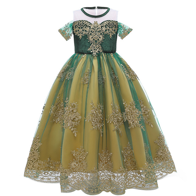 Disney robe princesse reine des neiges 2 princesse Anna reine hors de lépaule robe dété fille robe de princesse robe spectacle déguisement