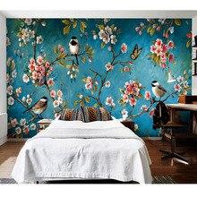 papel tapiz flores RETRO VINTAGE