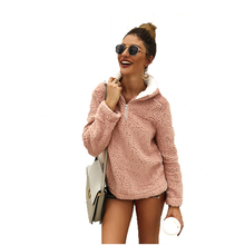 2019 New Oversized Hoodie Sudadera Mujer Women Hoodies 2018 Winter Zipper Blouse Sudaderas Para Long Sleeve Clothes