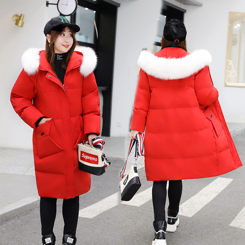 Size Plus Jacket Women White Duck Down Coat Winter Down Jacket Women Jacket Korean Puffer Jacket Casaco 805 YY1268
