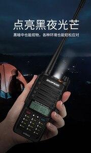 Image 3 - 2pcs high Power 10w Baofeng UV 9R plus Waterproof walkie talkie two way radio ham radio cb radio comunicador рация