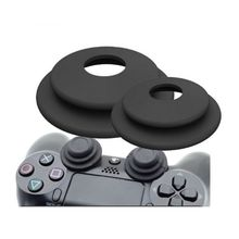 2 in 1 Aim Assistant Ring Soft Silicone Shock Absorbers Analog Joy Stick Game Accessories for Sony Playstation 3 PS4 Pro XBOX ON