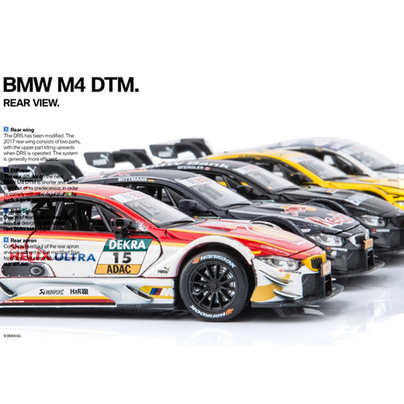 1:32 BM M4 DTM Rally Sports Car Alloy Model Cars Diecasts & Toy Vehicles Toys For Children Kids Xmas Gift Hot Toy Car