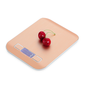 Digital Weighing Scale 10kg/5Kg Stainless Steel Kitchen Scale Food Diet Postal Balance Measuring Tool LCD Electronic Scales