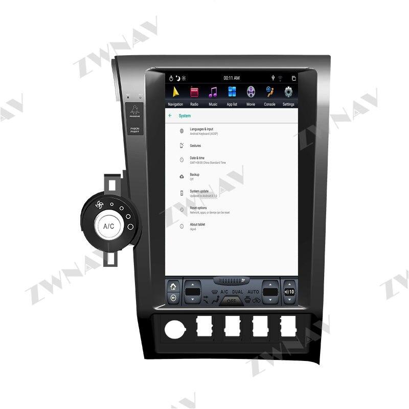 Купить 4g128g 136 дюймов px6 android 10 tesla стиль hd экран автомобильный