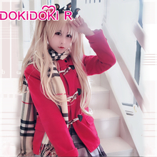 Cosplay Costume Dokidoki-R-Game Fate/grand-Order Fate/stay-Night Women Ereshkigal Winter