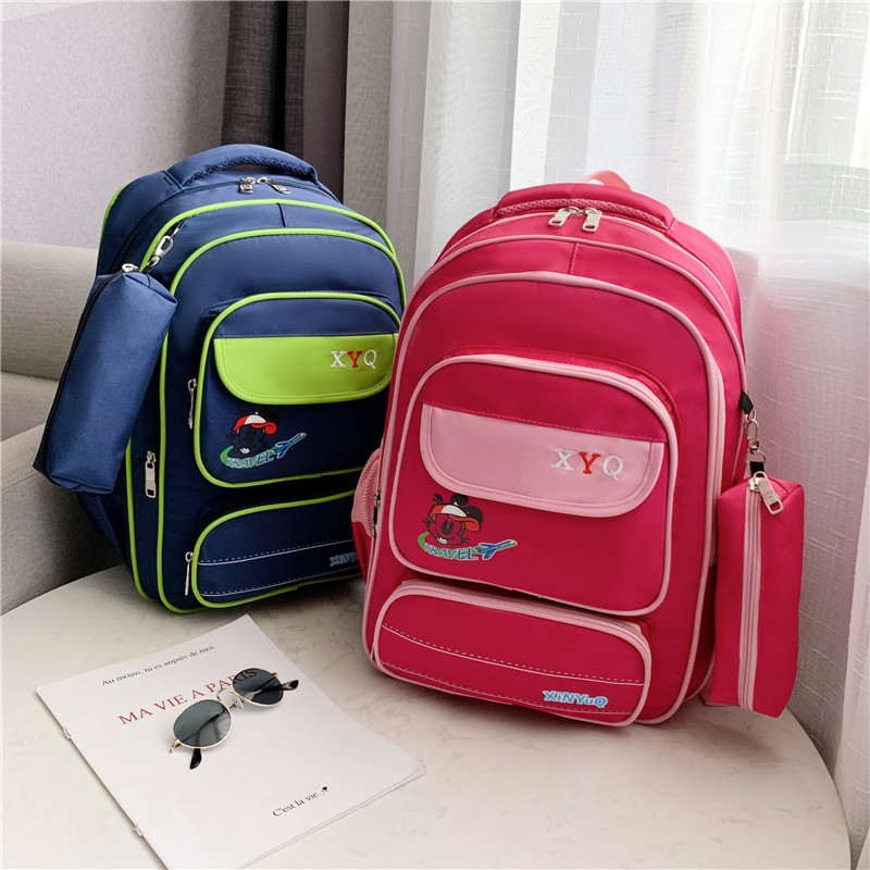 School Bag Young STUDENT'S Bagschool GIRL'S Children's Bags BOY'S Girls Fashion Bag Customizable Backpack Trendy Bag