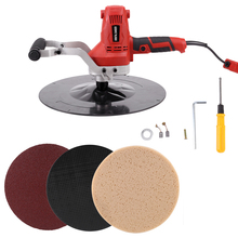Polishing-Machine Putty Concrete Epoxy Smoothing-Tool Cement Electric Hand-Held 220V