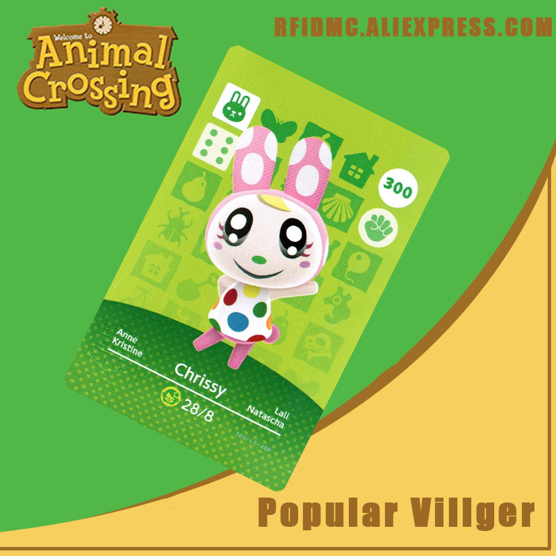 300 Chrissy Animal Crossing Card Amiibo For New Horizons
