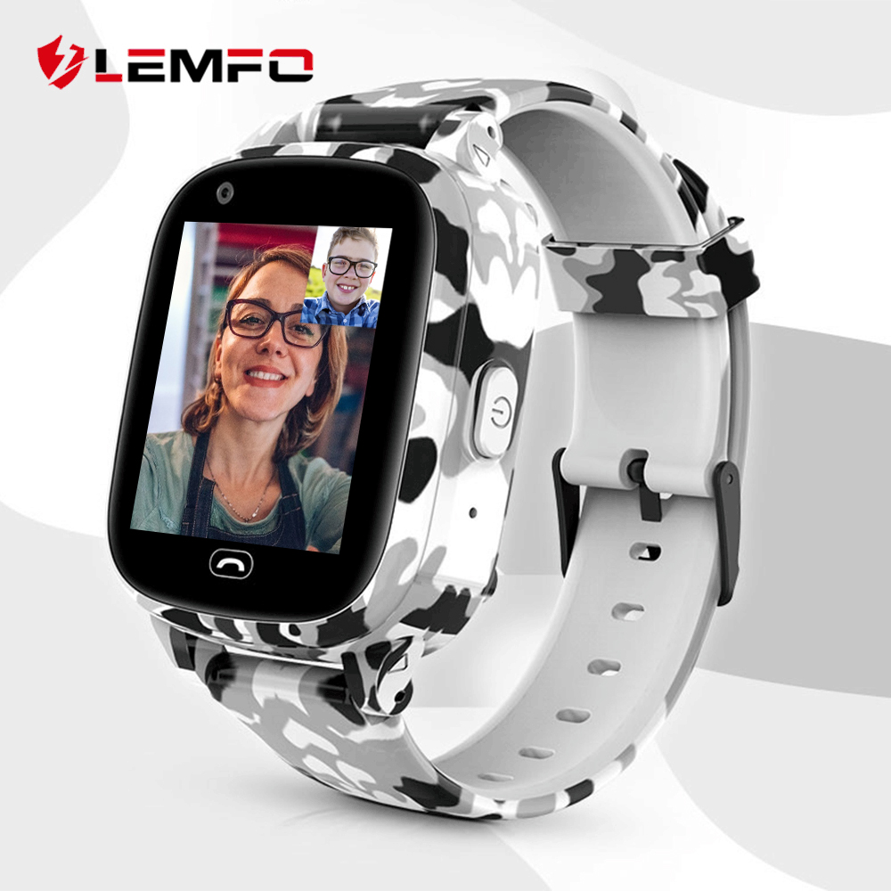 LEMFO LEC2 Pro 4G Kids Smart Watch GPS Wifi 650Mah Battery Baby Smartwatch IP67 Waterproof SOS For Children Support Take Video|Smart Watches| |  - AliExpress