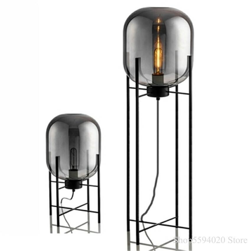 Hot Price Fcbc2 Modern Glass Led Floor Light Standing Lights