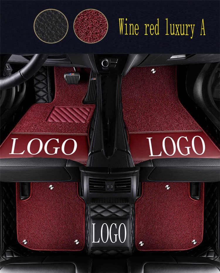 Tapis de sol de voiture avec Logo/Logo de marque pour Chevrolet Cruze Malibu Sonic Trax Sail captiva epica 5D