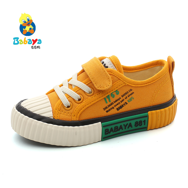 Babaya Children Canvas Shoes Boys Shoes Girls Sneakers Kids Casual Shoes Sports Fashion Breathable 2020 Spring New Brand