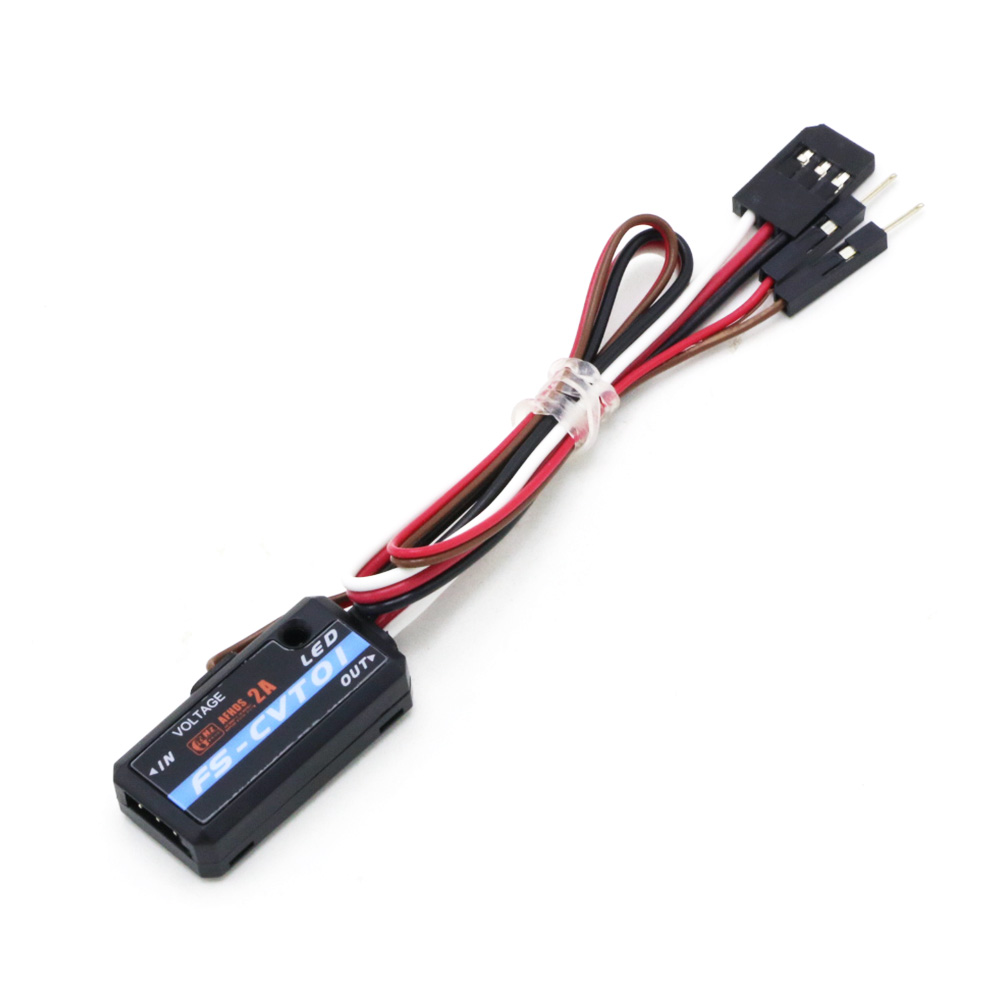 Original Flysky FS-CVT01 Voltage Collection Module For FSi6 FSi10 iA6B iA10 Receiver Rc Parts