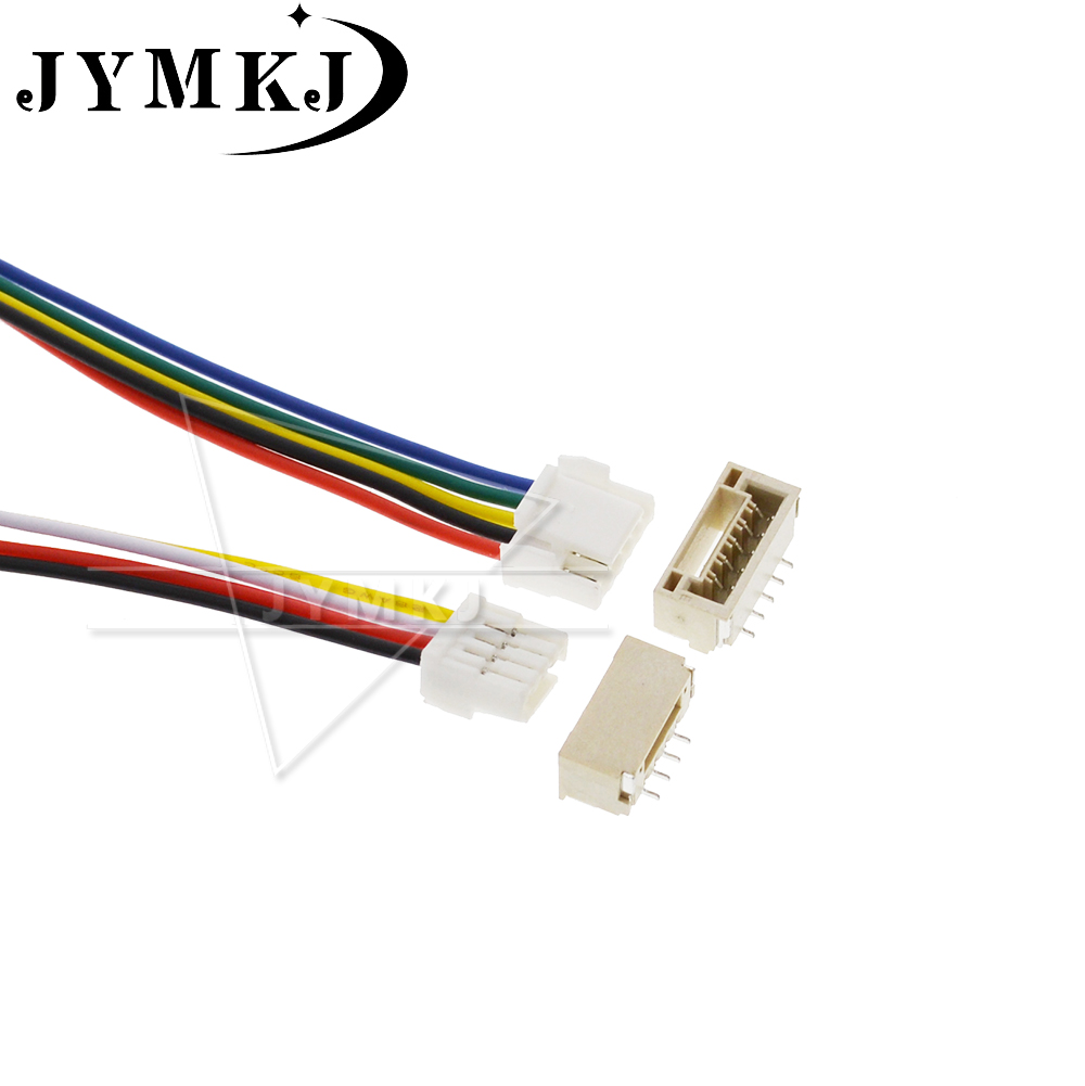 5 SETS 2P/3P/4P/5P/6 Pin JST GH Series 1.25 Connector With Wire 100/150MM 1007 28 AWG GH1.25 1.25MM