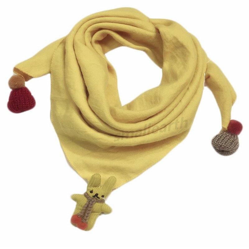 Весенние клетчатые треугольные шарфы в горошек для маленьких девочек; осенне-зимняя шаль для мальчиков и девочек; Детские хлопковые воротники; теплый детский шейный платок - Цвет: D2