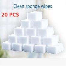 20 pçs/lote nova esponja mágica melamina esponja limpeza doméstica almofada para cozinha escritório banheiro limpeza nano esponjas ferramentas