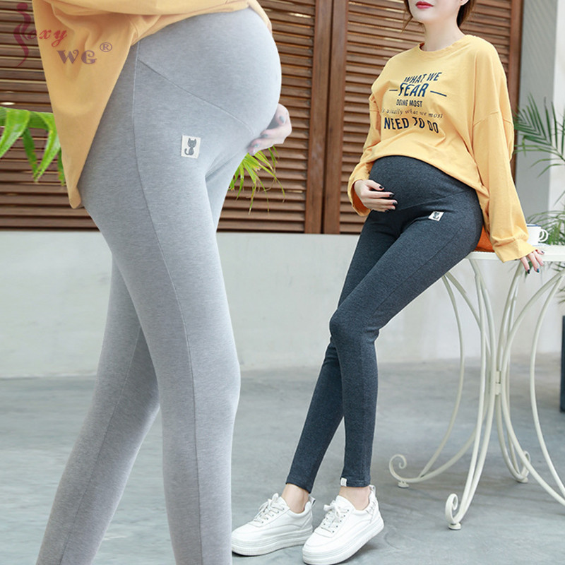 SEXYWG Mama Shaping Series Maternity Crop Legging Pants Pregnancy Clothes Pants Ankle Length Panties