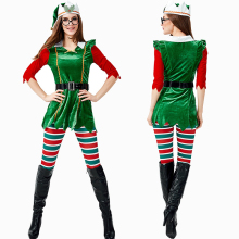 New Elf Costume Cosplay Women Forest Elf Costumes Adult Halloween Costume For Women Christmas Elf Costume Fancy Party Dress Suit elf
