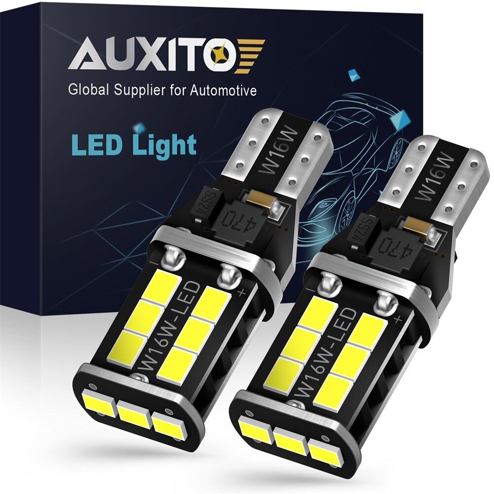 Резервные автомобильные светодиодсветодиодный лампы W16W T15 CANBUS, лампы без ошибок OBC, задний фонарь для Lada Granta, Niva, Priora, Kalina, Xray, Vesta, 2 шт.