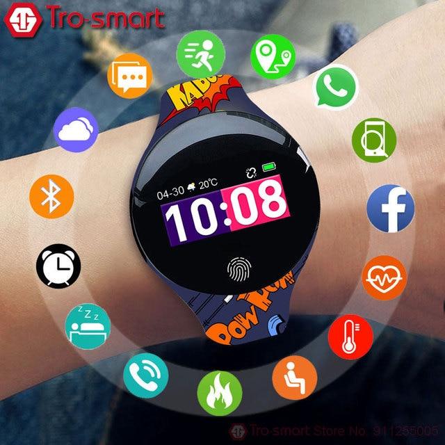 Digital Children Watch Kids Watches For Girls Boys Wrist Watch Child Students Clock Electronic Sport Wristwatch Tro-smart Brand 1