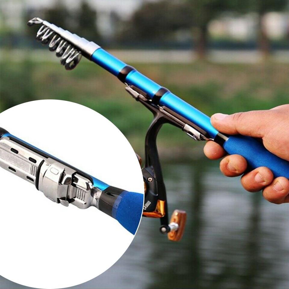 53pcs Fishing Tools Kit Rod Reel String Hook Float Lead Weight Fishing Tackle